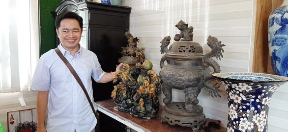 Hàng nghìn món đồ xưa, cổ vật phủ kín ngôi nhà 2 tầng ở Cần Thơ - Ảnh 2.