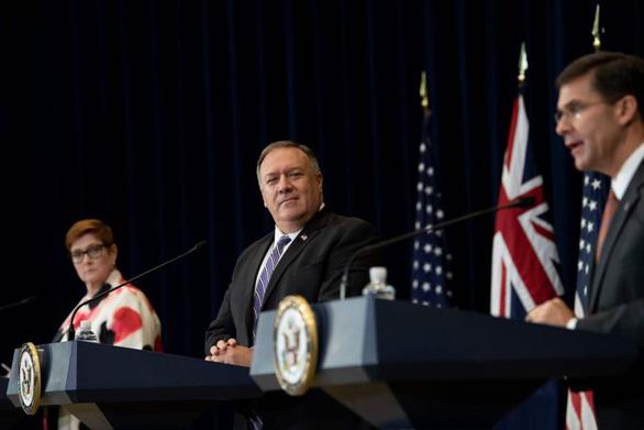 Leo thang căng thẳng với Trung Quốc, Mỹ và Úc tăng cường hợp tác quân sự - Ảnh 1.