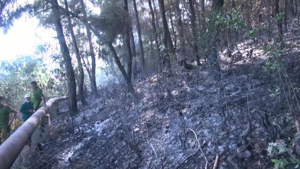 Hơn 300 người mới dập được đám cháy rừng nghi do đốt rác gây nên - Ảnh 3.