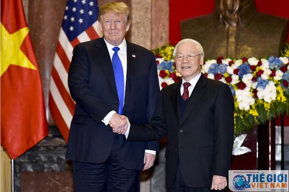 Tổng bí thư, Chủ tịch nước Nguyễn Phú Trọng điện mừng Tổng thống Donald Trump - Ảnh 1.