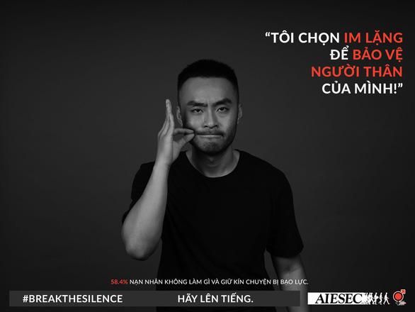 Hoa hậu Khánh Vân phản đối quấy rối tình dục qua Break the silence - Ảnh 3.