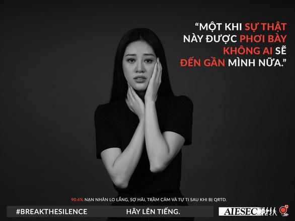 Hoa hậu Khánh Vân phản đối quấy rối tình dục qua Break the silence - Ảnh 8.