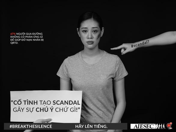 Hoa hậu Khánh Vân phản đối quấy rối tình dục qua Break the silence - Ảnh 7.