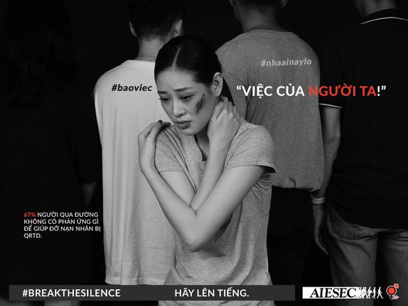Hoa hậu Khánh Vân phản đối quấy rối tình dục qua Break the silence - Ảnh 9.