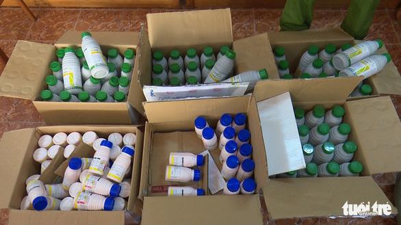 Một đường dây sản xuất thuốc bảo vệ thực vật giả hoạt động 6 tháng - Ảnh 1.