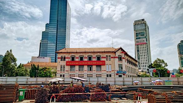 Xây dựng 6 đường hầm lên xuống nhà ga metro Bến Thành - Ảnh 3.