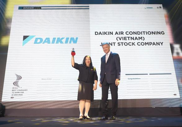 Daikin Việt Nam đoạt giải Nơi làm việc tốt nhất châu Á - Ảnh 1.