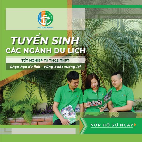 Trường Trung cấp Du lịch Hà Nội tuyển sinh: Nhiều ngành hấp dẫn bạn trẻ - Ảnh 1.