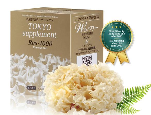 Tokyo Res 1000 - hỗ trợ sức khỏe cho bệnh nhân ung thư từ Nhật Bản - Ảnh 2.