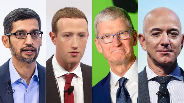 4 hoàng đế công nghệ của Mỹ điều trần trước quốc hội về hành vi độc quyền - Ảnh 1.