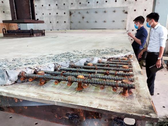 Thử nghiệm sửa 120m mặt cầu Thăng Long - Ảnh 2.