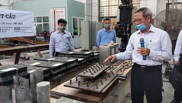 Thử nghiệm sửa 120m mặt cầu Thăng Long - Ảnh 5.