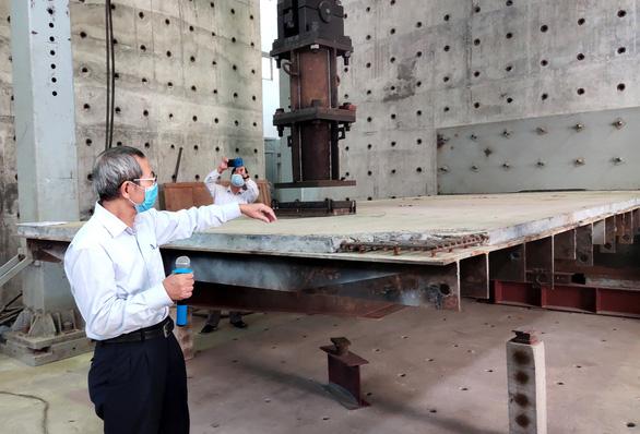 Thử nghiệm sửa 120m mặt cầu Thăng Long - Ảnh 3.