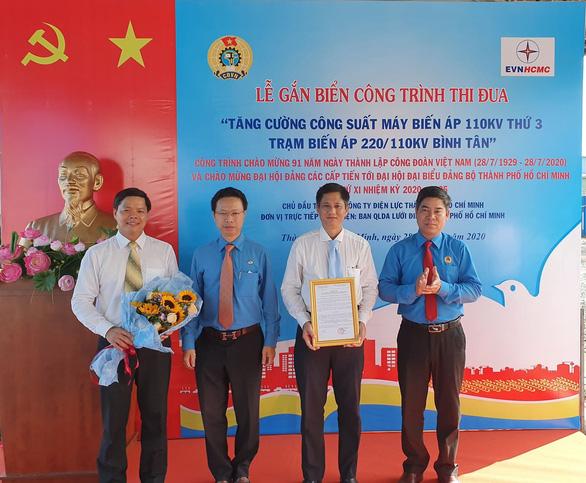 Khánh thành công trình nâng công suất cấp điện cho Bình Tân và Bình Chánh - Ảnh 2.