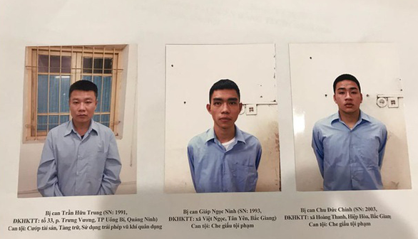 Đề nghị truy tố kẻ nổ súng cướp ngân hàng bất thành ở Sóc Sơn - Ảnh 1.