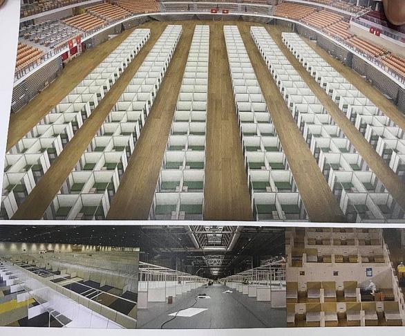 Bộ Xây dựng hỗ trợ Đà Nẵng xây bệnh viện dã chiến chống dịch - Ảnh 2.