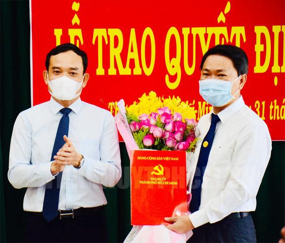 Chủ tịch UBND quận 4 làm bí thư Huyện ủy huyện Bình Chánh - Ảnh 1.
