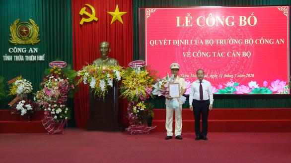 Thượng tá Nguyễn Thanh Tuấn giữ chức giám đốc Công an Thừa Thiên Huế - Ảnh 1.