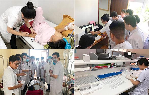216 sinh viên Y khoa ĐH Duy Tân hoàn thành thực tập lâm sàng tại Bệnh viện TW Huế - Ảnh 2.