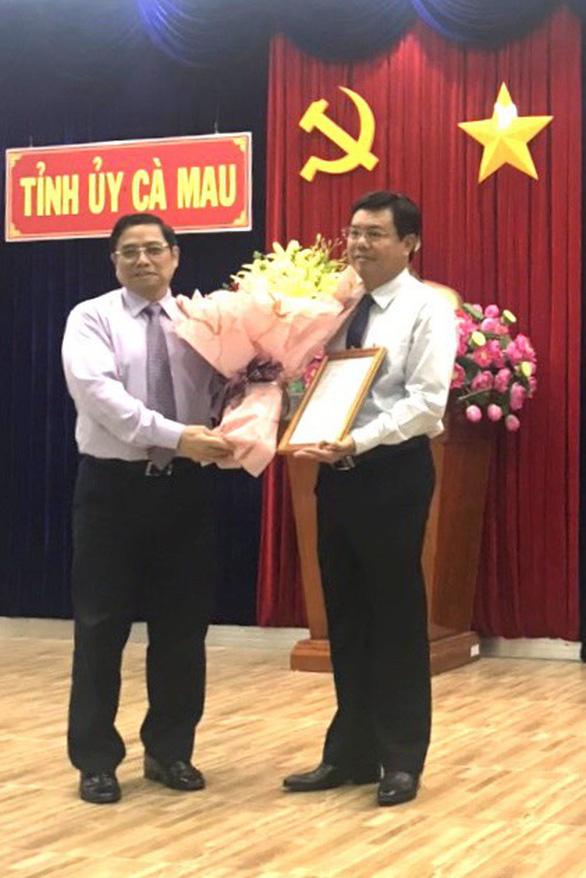 Chủ tịch UBND tỉnh Cà Mau được phân công làm bí thư tỉnh ủy - Ảnh 1.