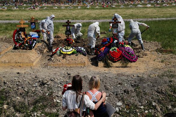 Số người chết do COVID-19 ở Nga vượt mốc 10.000 - Ảnh 1.