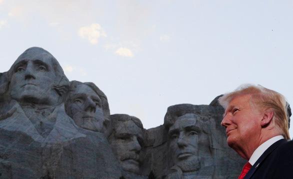 Ông Trump công kích cách mạng văn hóa cánh tả khi phát biểu trên núi Rushmore - Ảnh 1.