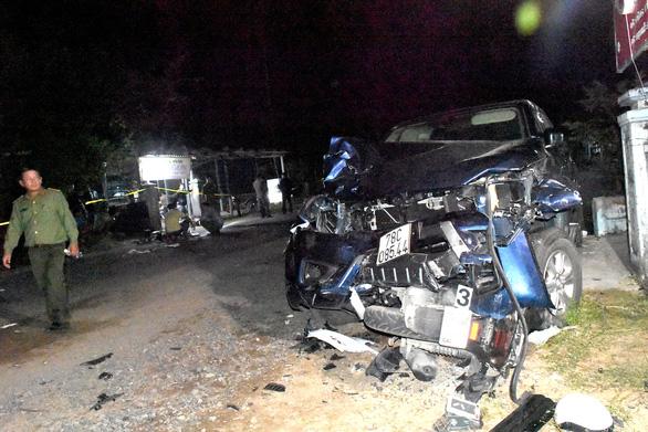 Lái xe bán tải gây tai nạn 4 người chết: tài xế đối mặt 7-15 năm tù - Ảnh 2.