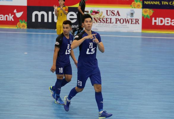 Thái Sơn Nam vô địch lượt đi mà không thua trận nào - Ảnh 1.