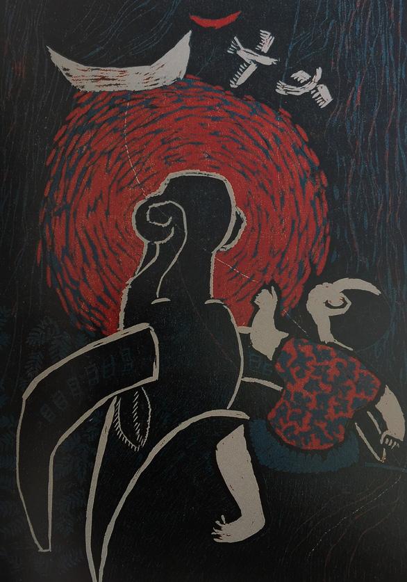 Tác giả tranh cổ động Ma túy - AIDS 'kinh điển' triển lãm 100 tác phẩm - Ảnh 3.