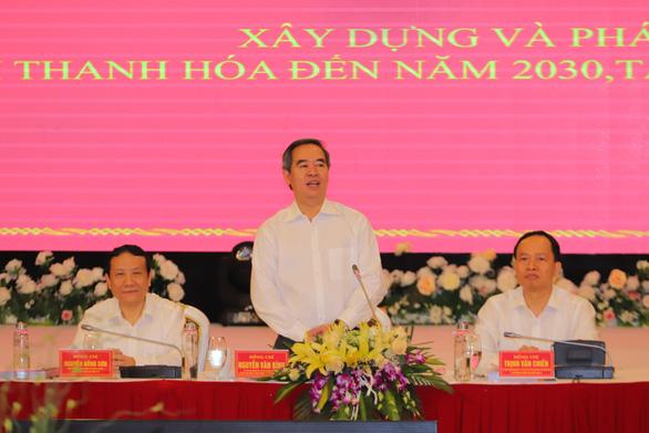 Thanh Hóa phải thành tỉnh công nghiệp trong tương lai - Ảnh 1.