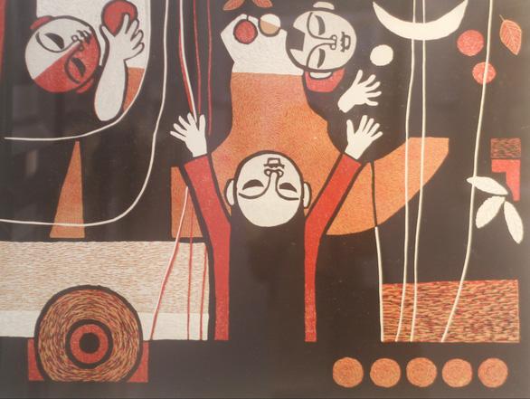 Tác giả tranh cổ động Ma túy - AIDS 'kinh điển' triển lãm 100 tác phẩm - Ảnh 8.