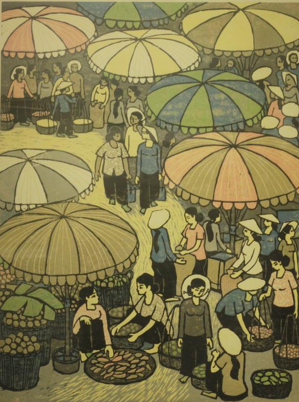Tác giả tranh cổ động Ma túy - AIDS 'kinh điển' triển lãm 100 tác phẩm - Ảnh 6.