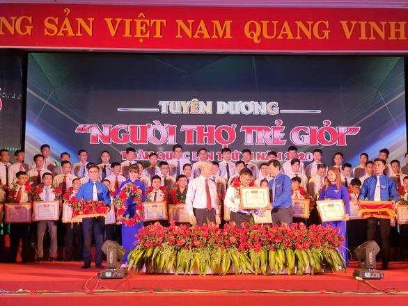 Trung ương Đoàn tôn vinh 63 Người thợ trẻ giỏi toàn quốc - Ảnh 3.