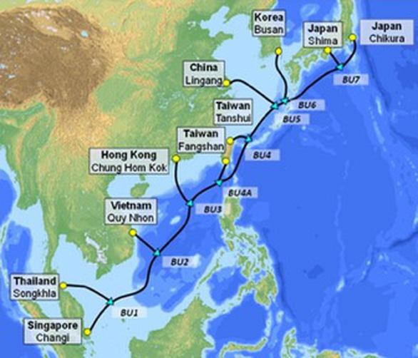 Việt Nam sắp có thêm tuyến cáp quang biển quốc tế do VNPT đầu tư - Ảnh 1.