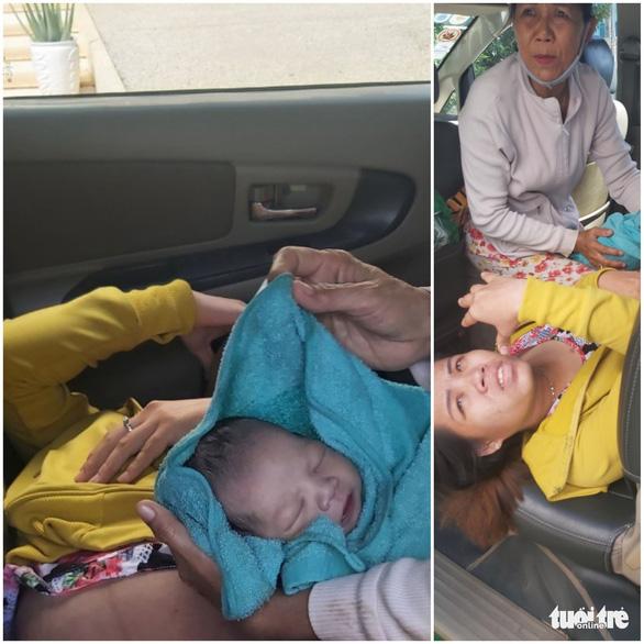 Bác tài xế taxi đỡ đẻ trên xe giúp sản phụ vượt cạn thành công - Ảnh 3.