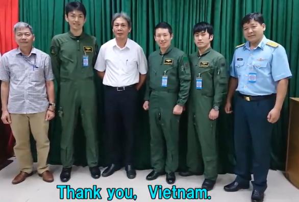 Nhật cảm ơn Việt Nam tiếp đón máy bay săn ngầm bị hư động cơ - Ảnh 1.