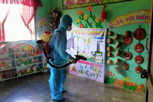 37 trường cho học sinh nghỉ học phòng bệnh bạch hầu - Ảnh 1.