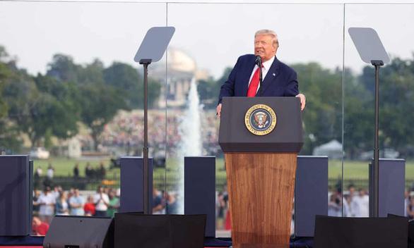 Ông Trump nói 99% ca bệnh COVID-19 ở Mỹ là vô hại - Ảnh 1.