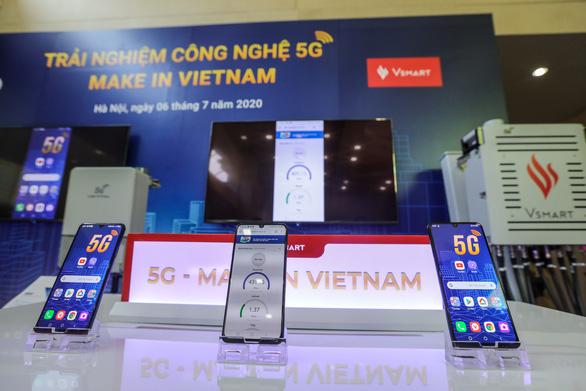 Việt Nam đã làm được điện thoại 5G - Ảnh 1.