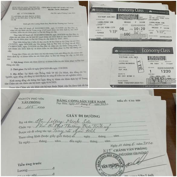 Phó bí thư thường trực Tỉnh ủy Phú Yên nói xe vào sát máy bay đón là đúng theo quy định - Ảnh 1.