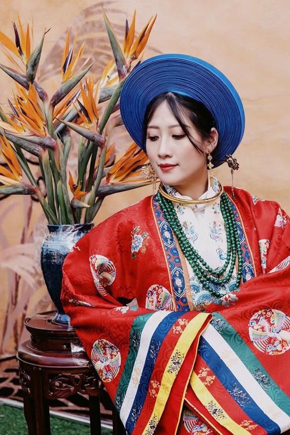 Cô dâu khoác áo Nhật Bình, chú rể diện áo tấc đẹp sững sờ đường rước dâu - Ảnh 3.