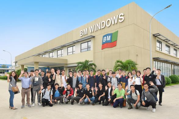 BM Windows mang đến trải nghiệm thực tế cho sinh viên ngành xây dựng - Ảnh 1.