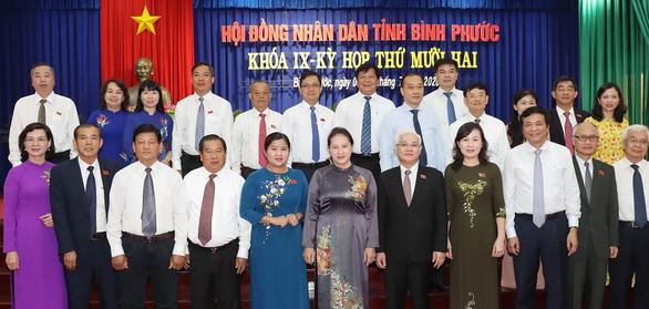 Chủ tịch Quốc hội đánh giá cao công tác cán bộ nữ, bình đẳng giới ở Bình Phước - Ảnh 2.