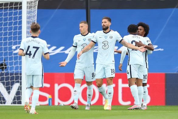 Chelsea thắng nghẹt thở Crystal Palace sau cuộc rượt đuổi tỉ số hấp dẫn - Ảnh 1.