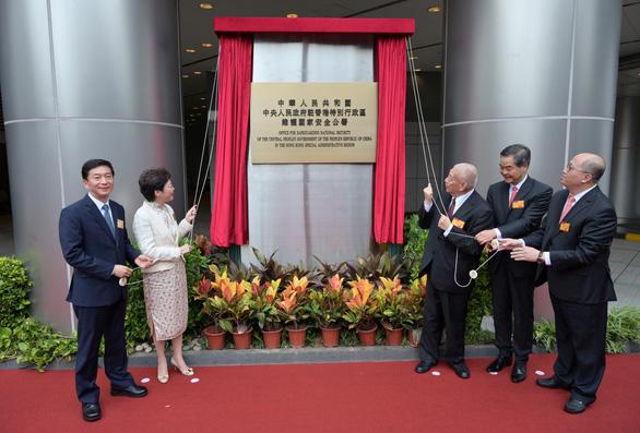 Trung Quốc lấy khách sạn làm Văn phòng bảo vệ an ninh quốc gia ở Hong Kong - Ảnh 1.