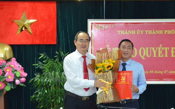 Giám đốc Sở Công thương Phạm Thành Kiên làm bí thư Quận ủy quận 3 - Ảnh 1.