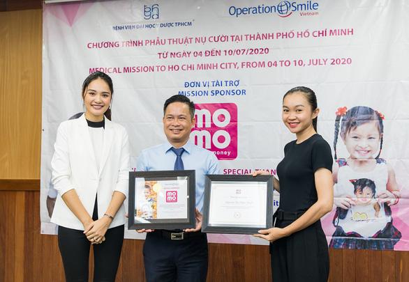 4 triệu Heo Vàng từ ví MoMo hỗ trợ 120 em mổ dị tật hàm mặt - Ảnh 2.