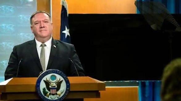 Ông Pompeo: Mỹ sẽ giới hạn thị thực một số quan chức Trung Quốc - Ảnh 1.