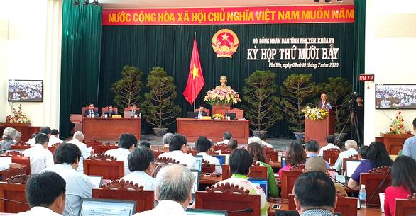HĐND tỉnh Phú Yên gặp khó khi họp mà không có chủ tịch - Ảnh 1.