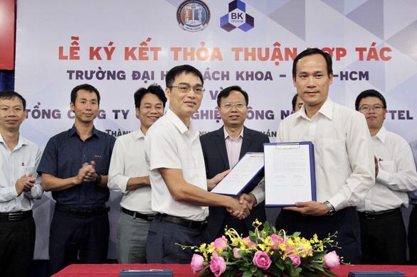 Trường ĐH Bách khoa TP.HCM hợp tác Viettel nghiên cứu làm chip 5G - Ảnh 1.